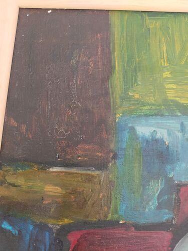 Huile sur toile signée 1967