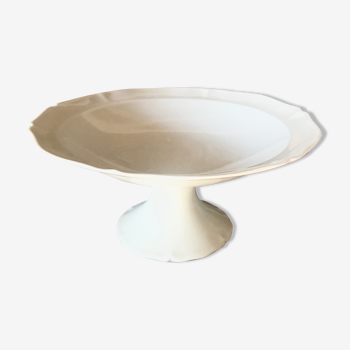 Compotier in white earthenware