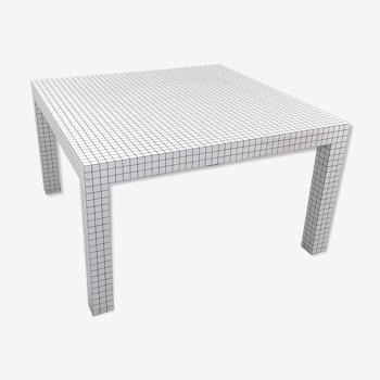 Quaderna table by superstudio for zanotta, 1970