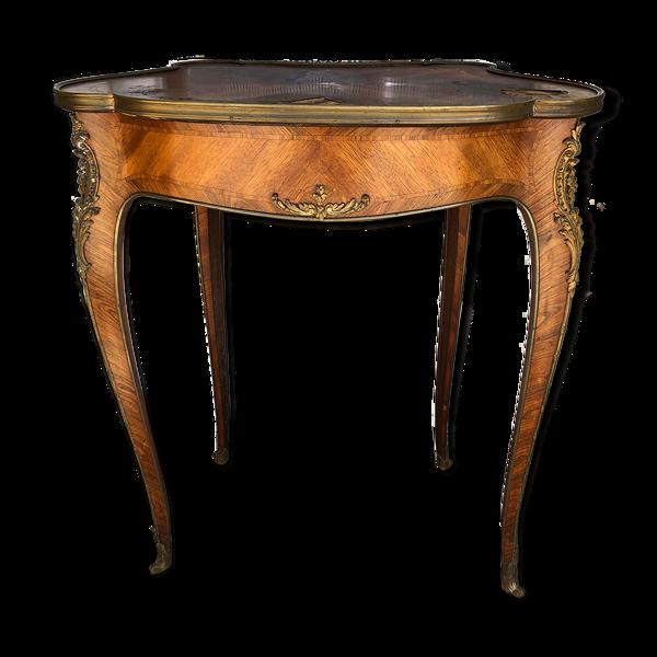 Table à mécanisme Louis XV