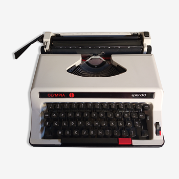 Machine à écrire olympia splendid