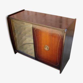 Armoire, barre avec gramophone, années 60