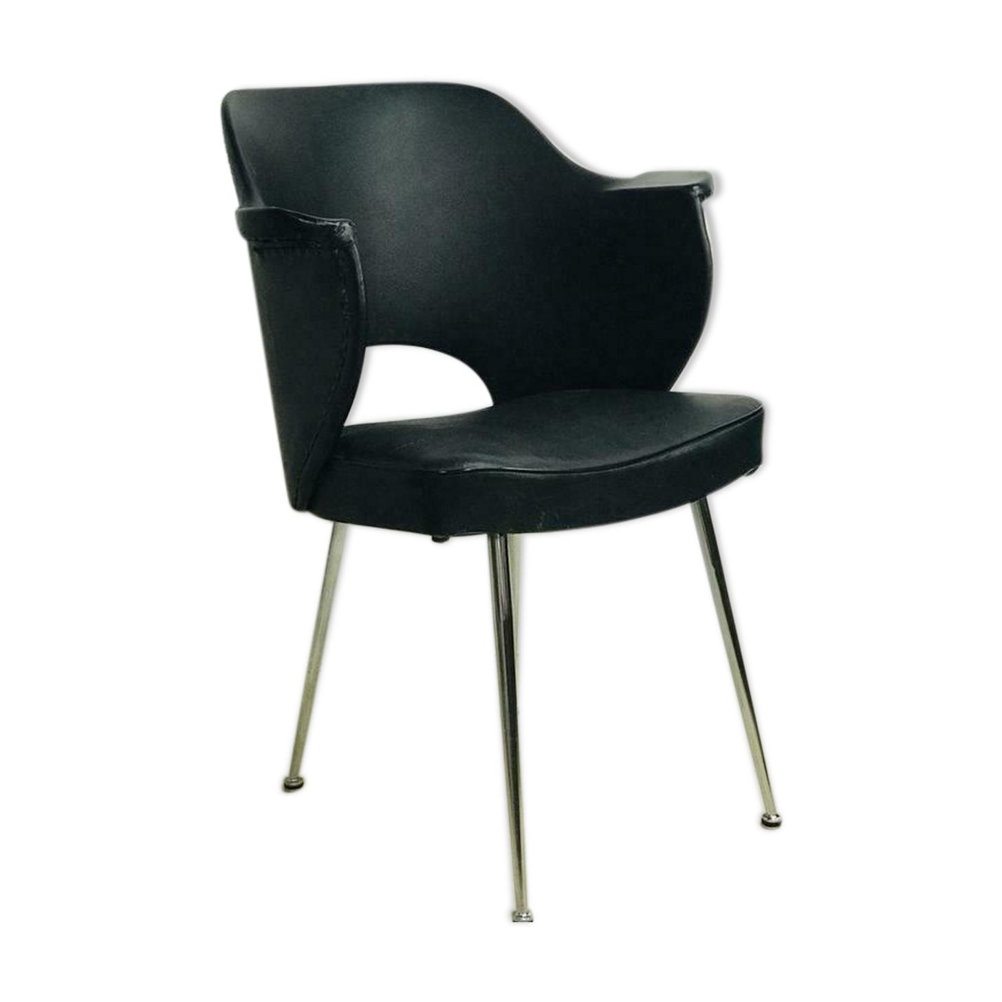 Chaise vintage / chaise de bureau chaise de salle à manger rétro