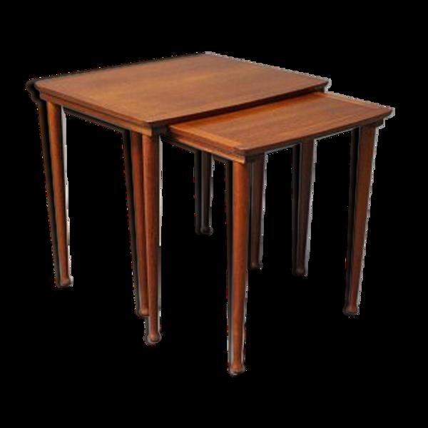 Selency Trundle 1960 teak table