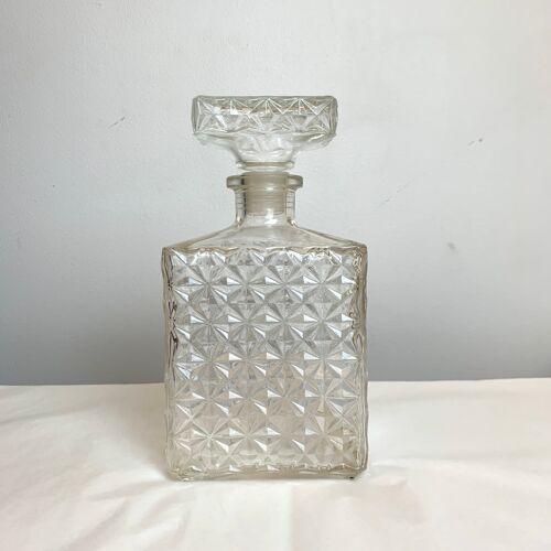 Carafe vintage en verre