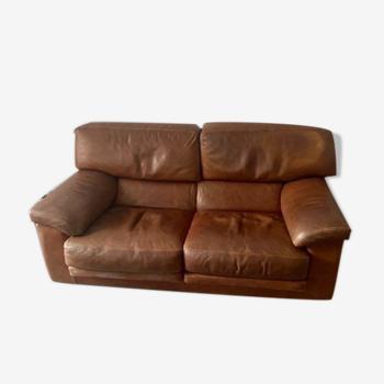 Canapé 2-3 places en cuir marque rRvolta