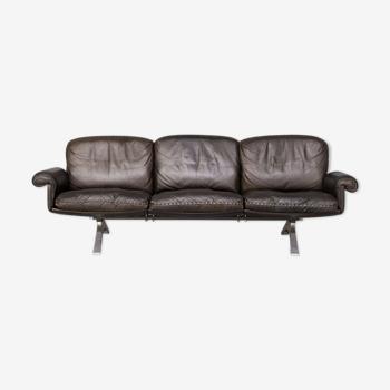 Canapé DS31 en cuir des années 70 pour DeSede