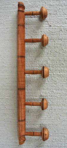 Portemanteau mural en bois