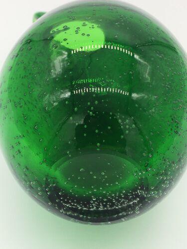 Carafe en verre soufflé