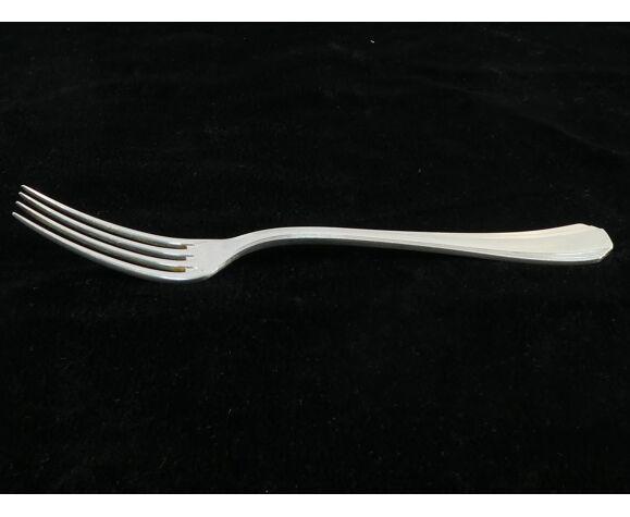 Menagere Christofle en metal argenté art deco modele boreal par luc lanel nº2