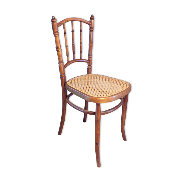 Chaise bistrot cannée 1900