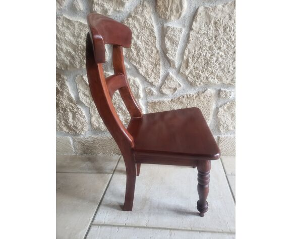 Chaise enfant en bois
