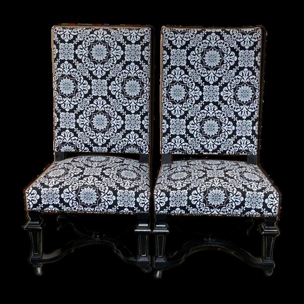 Selency Set deux chaises Napoléon III