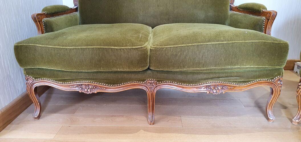 Canapé & fauteuil Louis XV