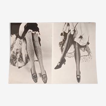 Photographie originale histoire de la mode Elbeo 1962