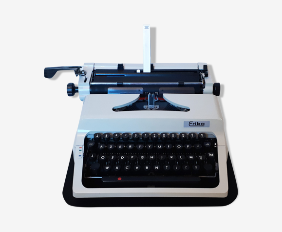 Portable, functional typewriter with user manual