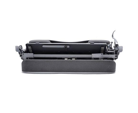 Typewriter japy reporter vintage gray revised ribbon new