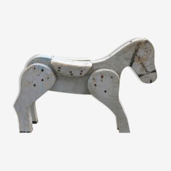 Cheval ancien 60 x 40 cm