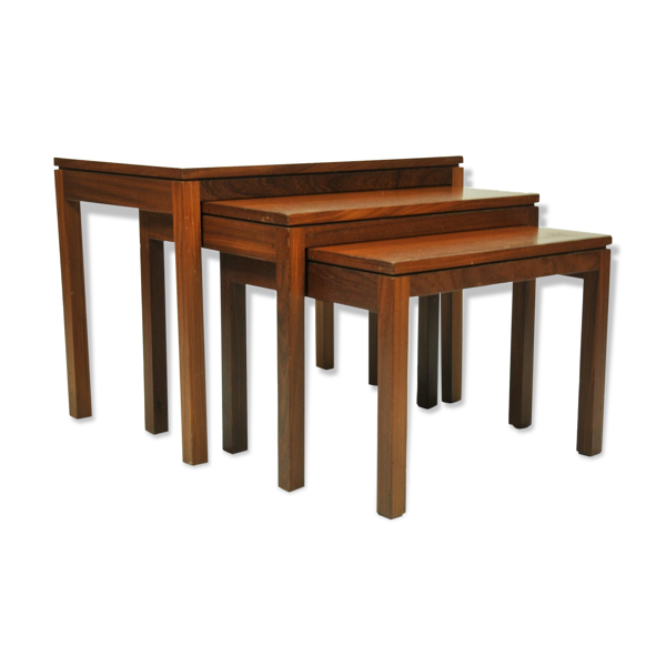1960 teak nesting tables