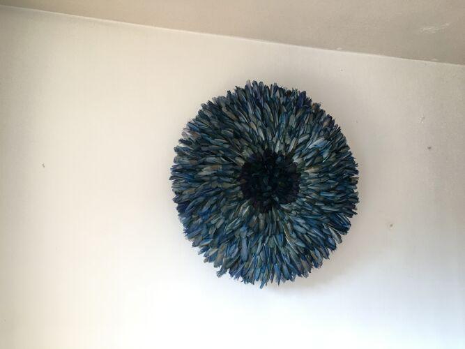 Juju hat bleu vert 80 cm