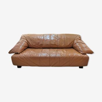 Canapé cuir Cinna 1980