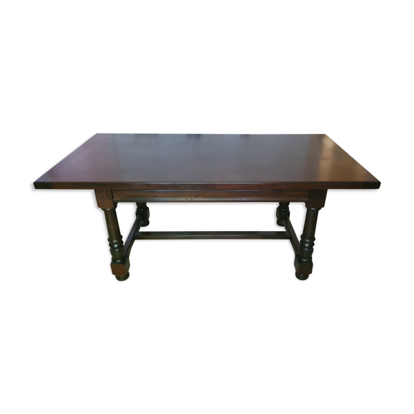 Selency Table en bois massif