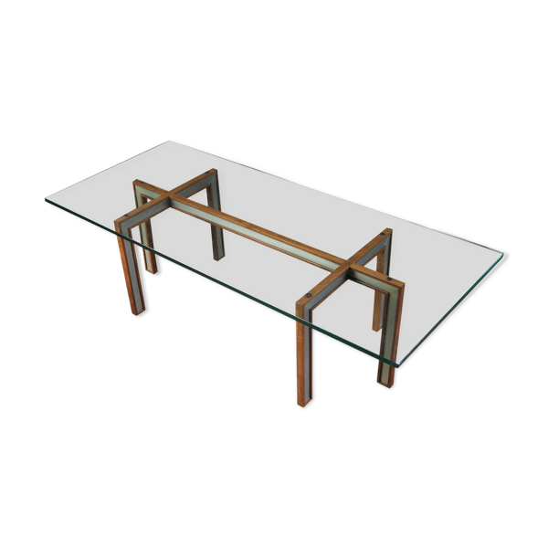 Selency Table basse en verre