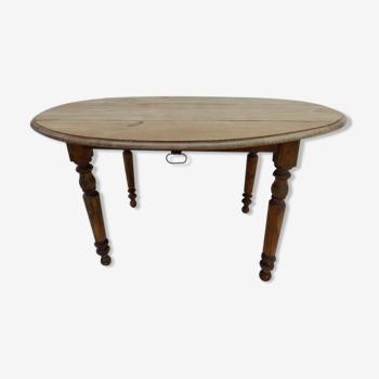 Table ancienne à volet