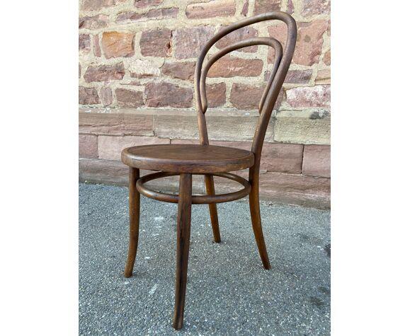 Chaise bois courbé viennoise 19eme