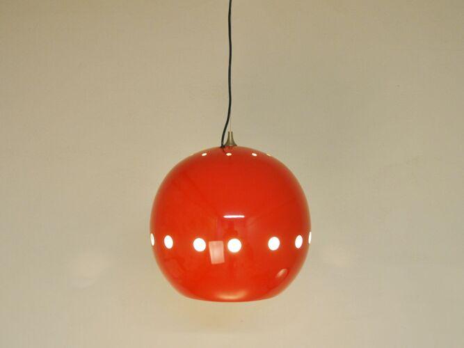 Red hanging lamp