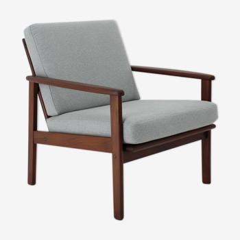 1960s danish beech armchair