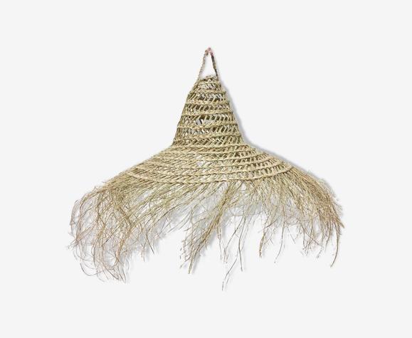 Luminaire en fibre vegetale
