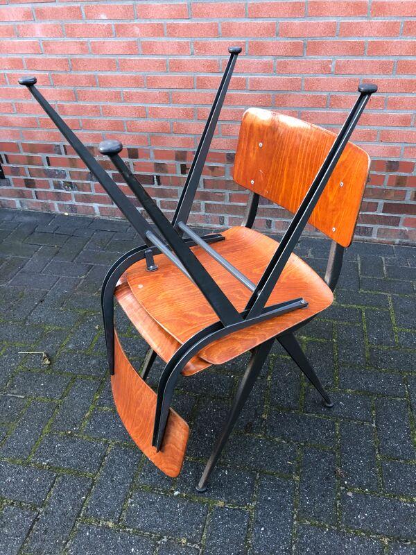 Chaise d'école Eromes Marko Holland 60