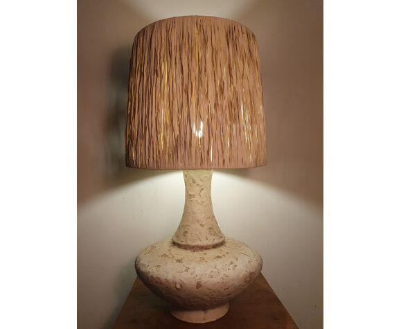 Lampe céramique émaillée