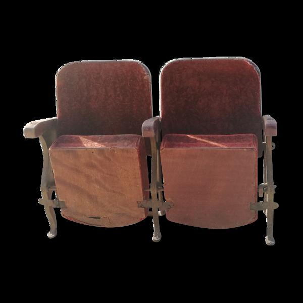 Anciens fauteuils de cinéma
