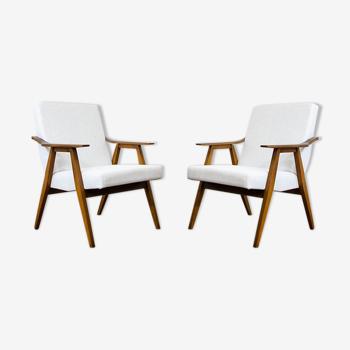 Paire de fauteuils des années 1960