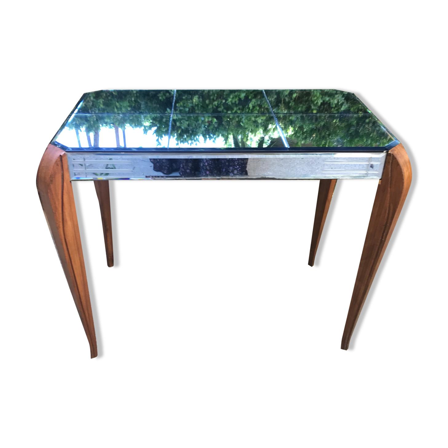 Table miroir Art déco