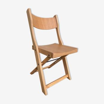 Ancienne chaise scandinave pliante
