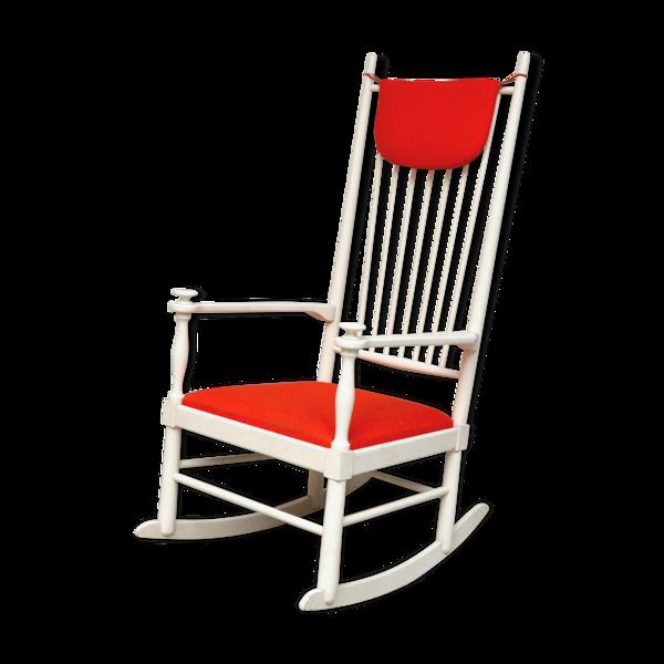 Rocking chair Isabella  par Karl-Axel Adolfsson  pour Gemla, 1960