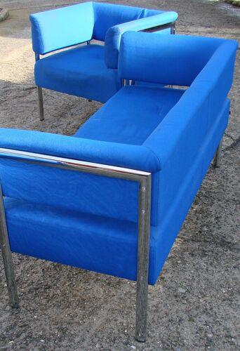 Deux fauteuils et un canapé , Kohl Allemagne des années 1990