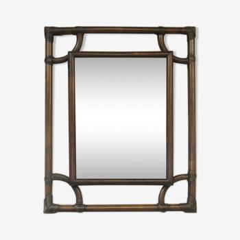 Miroir en bambou 61x78cm