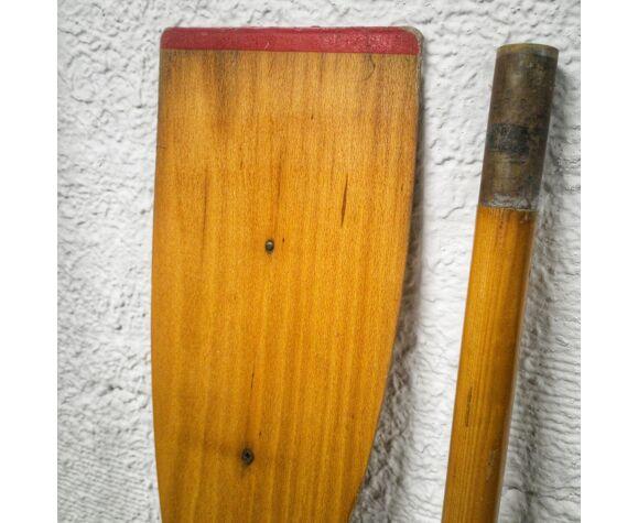 Paire de rames anciennes en en bois