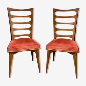 Chaises vintage 1950