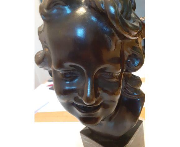 Buste en bronze signé carpeaux