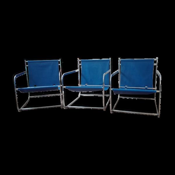 3 fauteuils 70