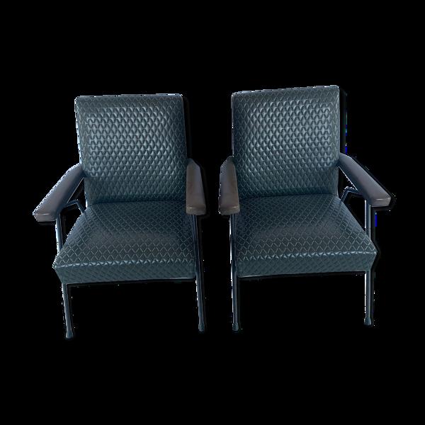 Paire de fauteuils pour enfants années 60