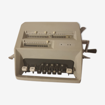 Ancienne calculatrice Facit C1 13 avec housse