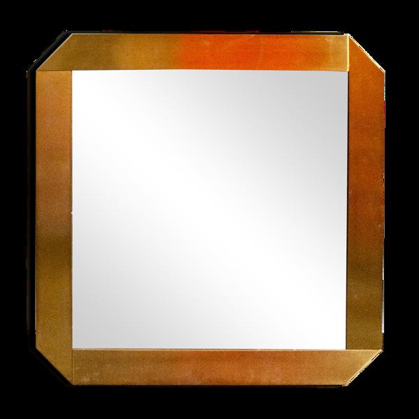 Miroir cadre en métal laiton pour Valenti Italia 70
