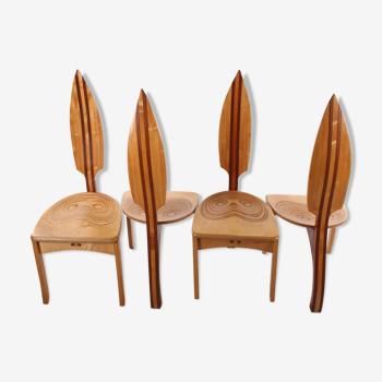 Chaises de dîner de David Haig Made in Australie