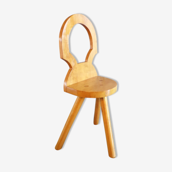 Chaise tripode butaliste